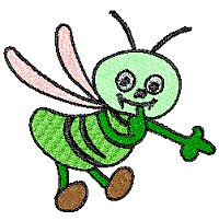 green bee designs machine embroidery