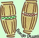 Link to the Music Instruments embroidery designs