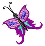 Link to the Butterflies embroidery design collection