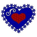 Link to the Sweet hearts embroidery design collection
