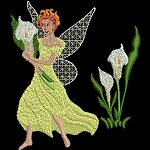 Link to the Fairies 1 embroidery design collection