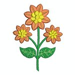 Link to the Flowers on Stems 2 embroidery design collection