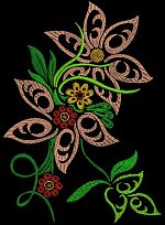 Link to the Secret Garden 4 5x7 embroidery design collection