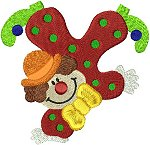 Link to Clowns embroidery designs