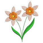 Link to the Decorative Flowers embroidery design collection