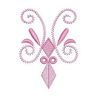 Decorative Pattern embroidery design 10a