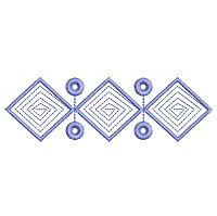 Decorative Pattern embroidery design 19
