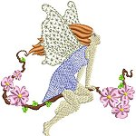 Link to the Fairies 2 embroidery design collection