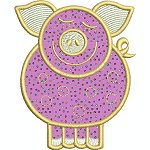 Link to the Applique Farm animals embroidery design collection