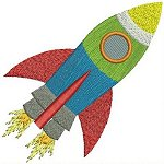 Out of Space machine embroidery designs