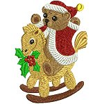 Link to the Christmas Bears embroidery design collection